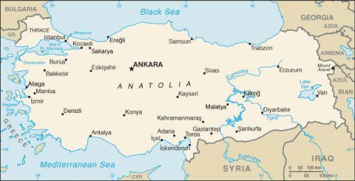 Geografia Turciei
