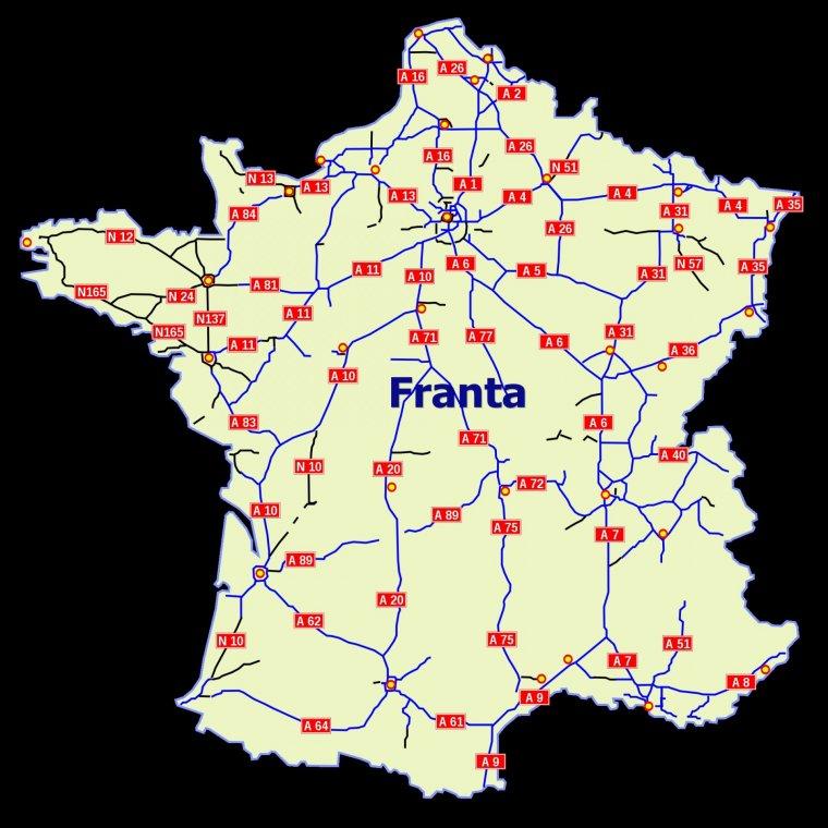 Autostrazile Din Franta Autoroutes De France