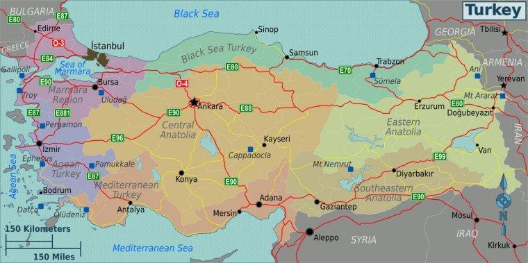 Autostrăzile Din Turcia